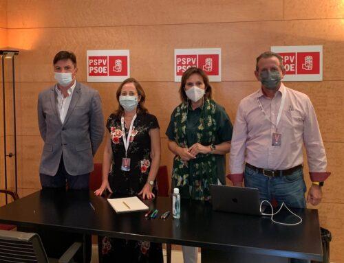 Reunión de AFOFC, APEFA y FARVAL con el grupo parlamentario del PSOE